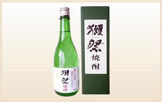 獺祭の酒粕焼酎