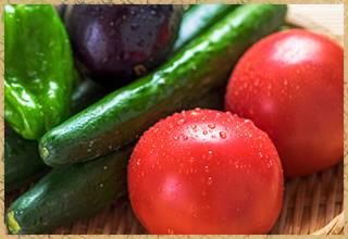 農家直送の野菜